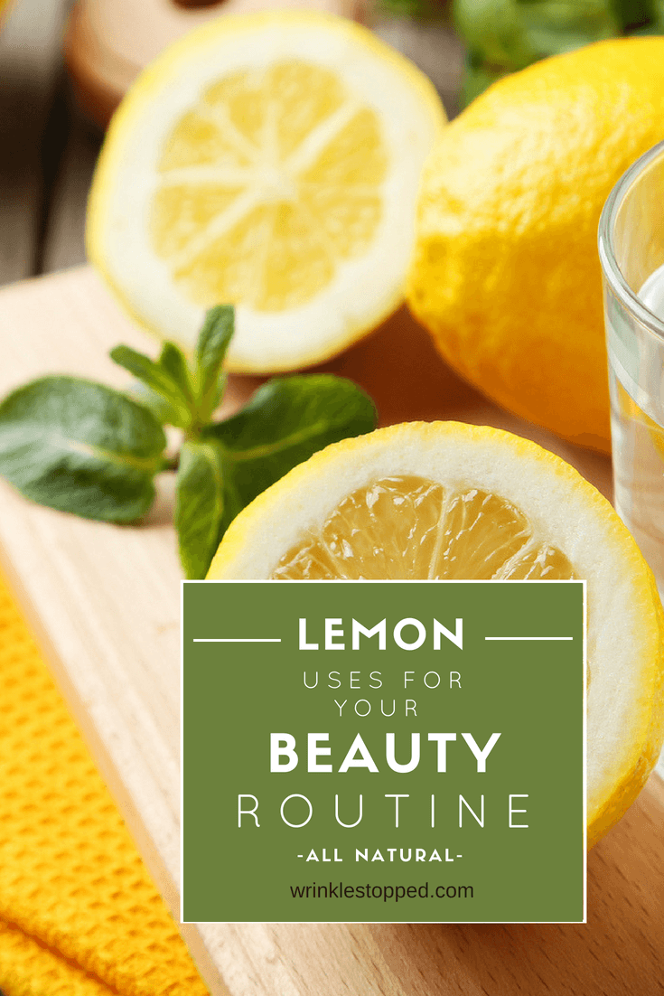 Lemon Uses for your beauty routine