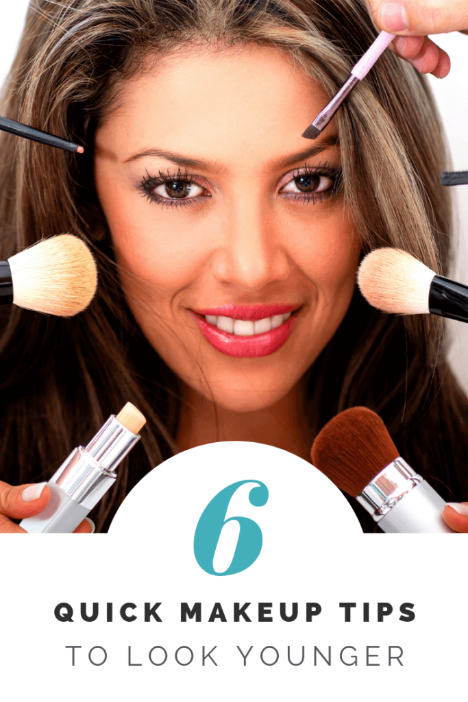 6 Quick Makeup Tips To Look Younger