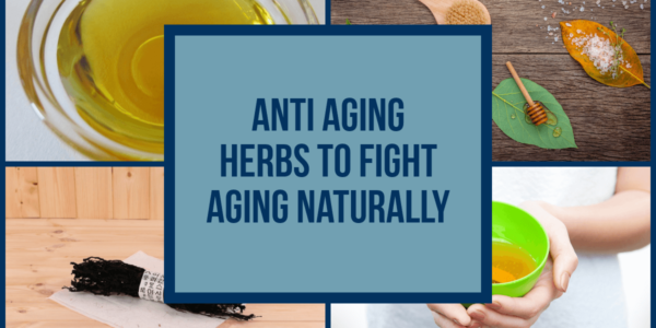 Anti Aging Herbs And Vitamins To Fight Aging Naturally